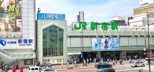 JR新宿南口